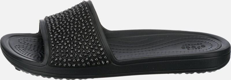 Crocs Komfort-Pantoletten 'Sloane Embellished Slide'