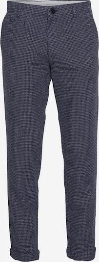 KnowledgeCotton Apparel Hose 'Chuck Papita' in nachtblau / taubenblau, Produktansicht