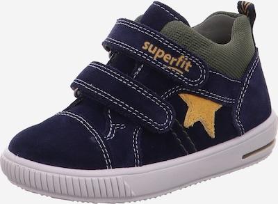 SUPERFIT Sneaker 'MOPPY' in dunkelblau / gelb / khaki, Produktansicht