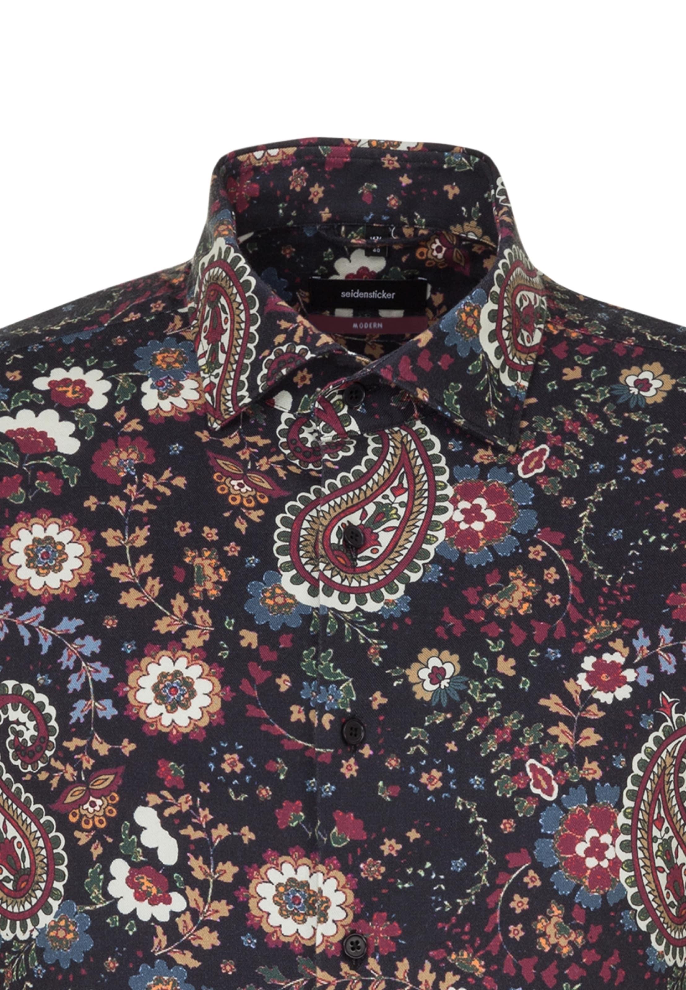 Seidensticker Mischfarben 'modern' Hemd Seidensticker 'modern' In Hemd In Mischfarben OPiuXTkZ