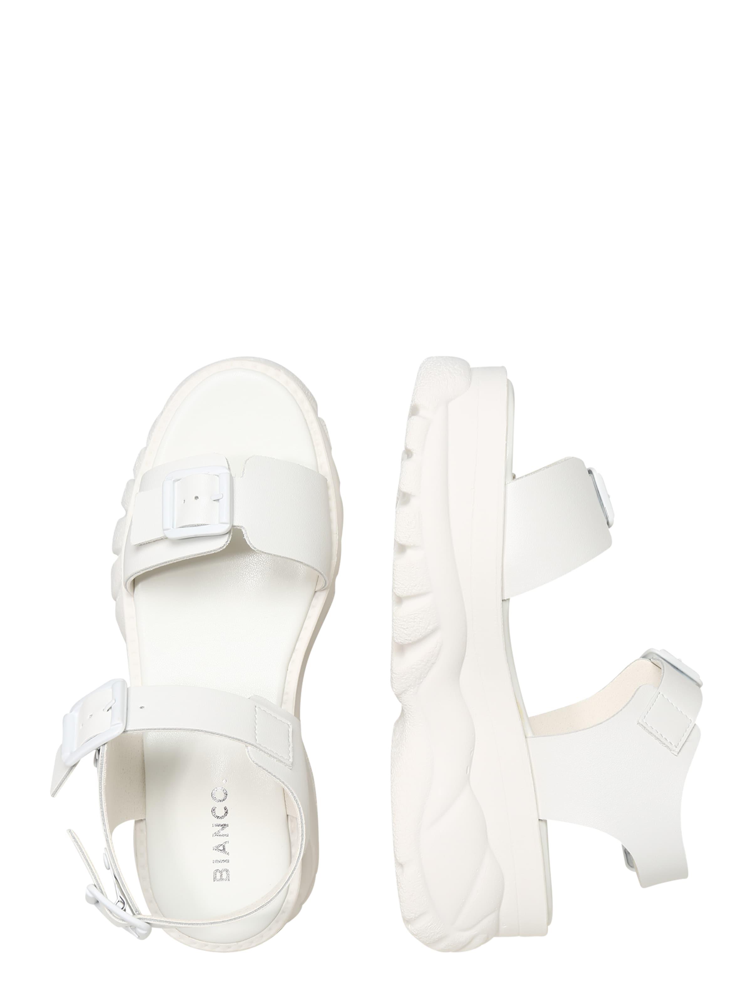 En Sandales 'biacalida' Bianco En Blanc Blanc Bianco Sandales Bianco 'biacalida' EIWDH29