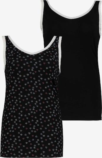 Ulla Popken Unterhemd Set in schwarz, Produktansicht