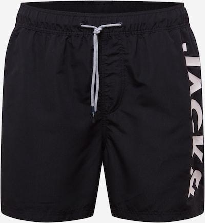 JACK & JONES Plavecké šortky 'IARUBA' - čierna / biela, Produkt