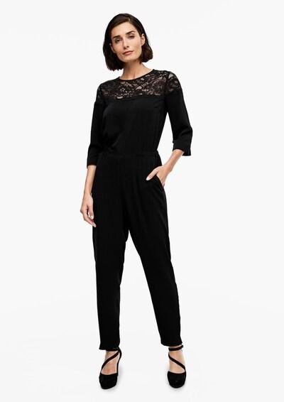 Kombinezono tipo kostiumas iš s.Oliver , spalva - juoda, Modelio vaizdas