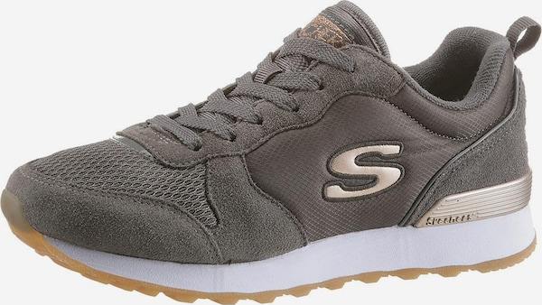 consultor formación hará  SKECHERS Sneaker Low 'Goldn gurl' in Taupe | ABOUT YOU