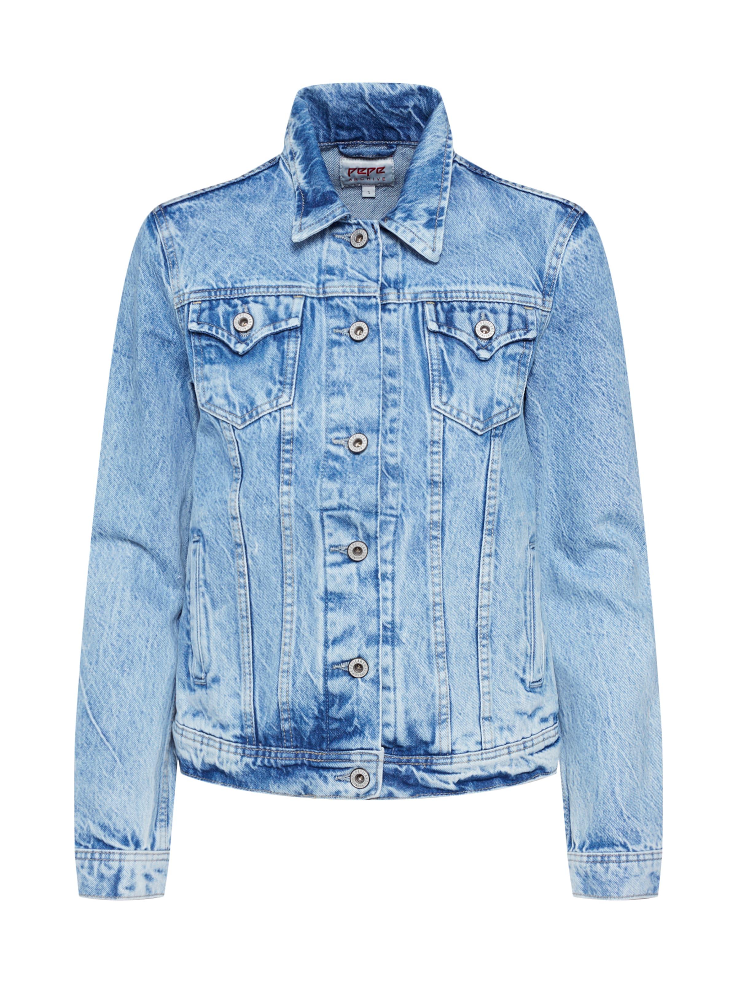 Denim saison Bleu Pepe 'thrift' In Mi JeansVeste fgy6Yb7