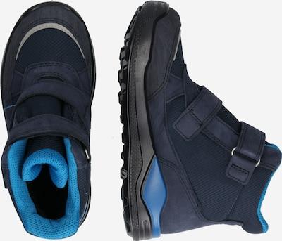 ECCO Stiefel in blau / nachtblau: Seitenansicht