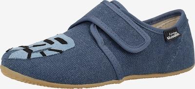 Living Kitzbühel Huisschoenen in de kleur Marine / Lichtblauw, Productweergave