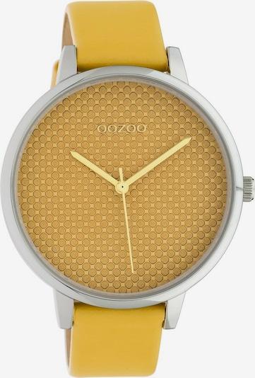 OOZOO Uhr 'C10590' in senf / silber, Produktansicht