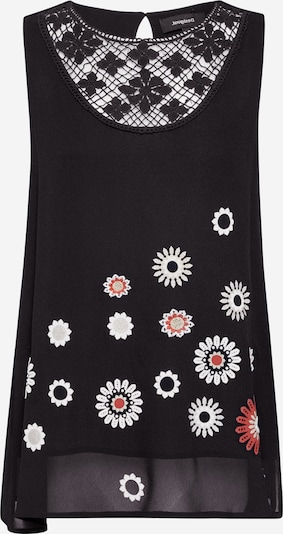 Desigual Damen - Blusen & Tuniken 'BLUS_TEBAS' in mischfarben / schwarz, Produktansicht