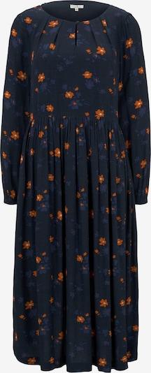 TOM TAILOR Kleid in navy / nachtblau / orange, Produktansicht