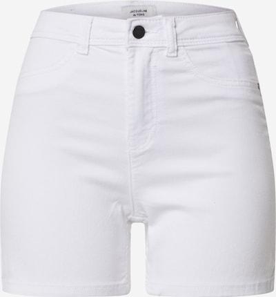 JACQUELINE de YONG Jeansshorts 'NIKKI TREATS MIX' in weiß, Produktansicht
