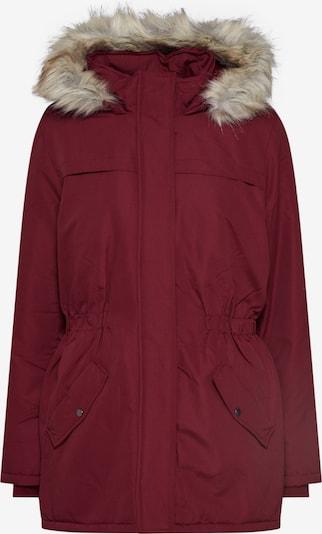 JACQUELINE de YONG Parka 'KLEO BADGE' in burgunder, Produktansicht