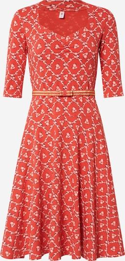 Blutsgeschwister Kleid in rot, Produktansicht
