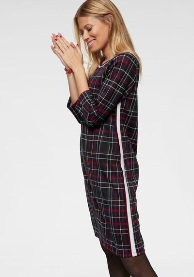 Aniston CASUAL Kleid in dunkelblau / dunkelrot, Produktansicht