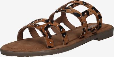 ABOUT YOU Sandaler 'Linda' i brun / sort, Produktvisning