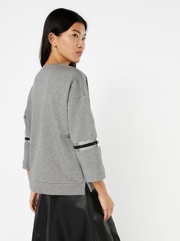 MORE & MORE Sweatshirt mit Pailletten