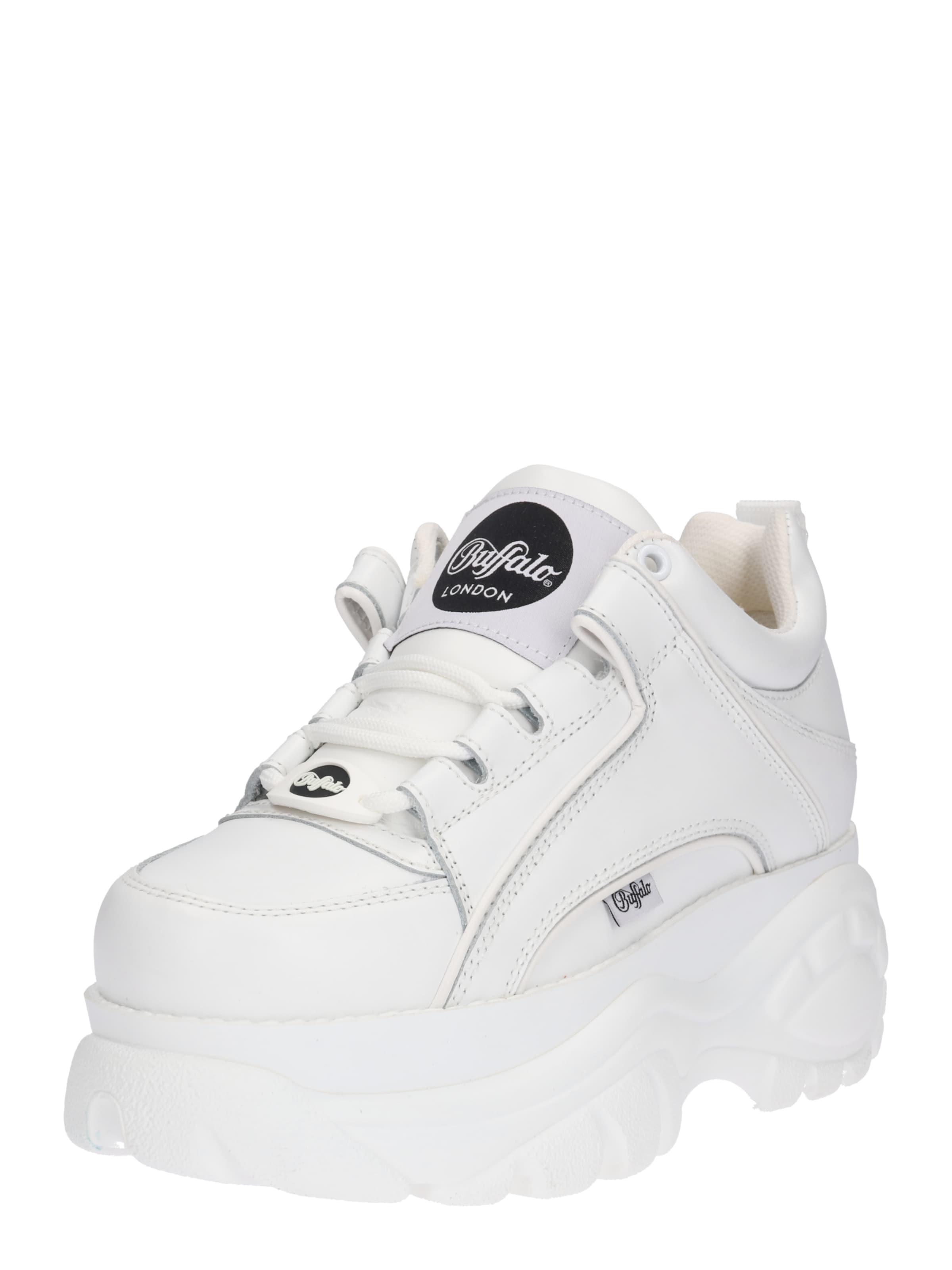 Plateau Weiß In London Sneaker Buffalo Mit JTcFlK13