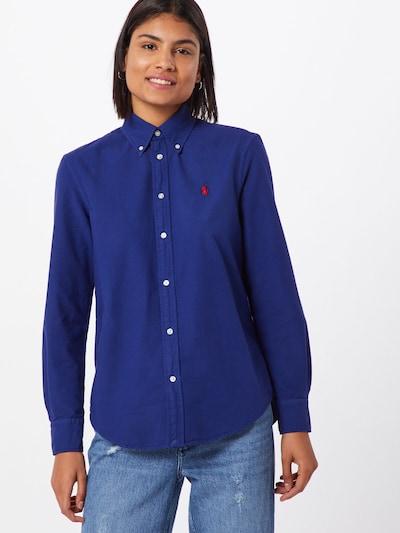 POLO RALPH LAUREN Bluse in blau, Modelansicht