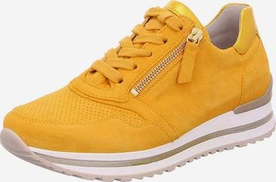 GABOR Sneakers in gelb / weiß, Produktansicht