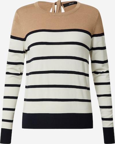 Vero Moda Petite Pullover 'VMLACOLE' in beige / altrosa / weiß, Produktansicht