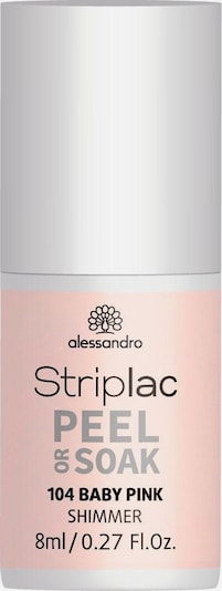 alessandro INTERNATIONAL Nagellack 'Striplac Peel Or Soak' in rosa, Produktansicht