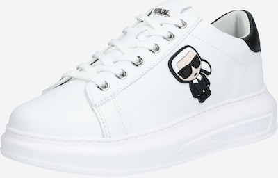 Karl Lagerfeld Niske tenisice 'KAPRI' u crna / bijela, Pregled proizvoda