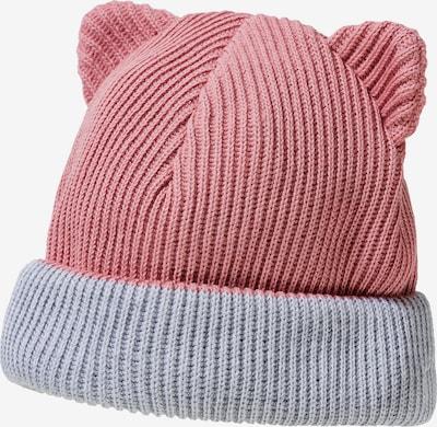 MAXIMO Mütze in grau / rosa, Produktansicht