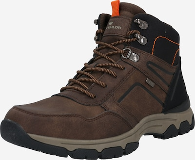 TOM TAILOR Boots in braun / orange / schwarz, Produktansicht