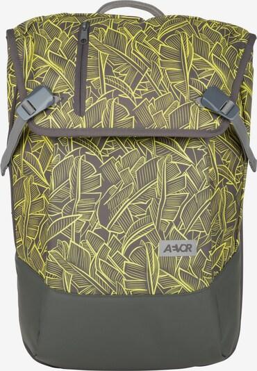 AEVOR Rucksack in gelb / rauchgrau, Produktansicht