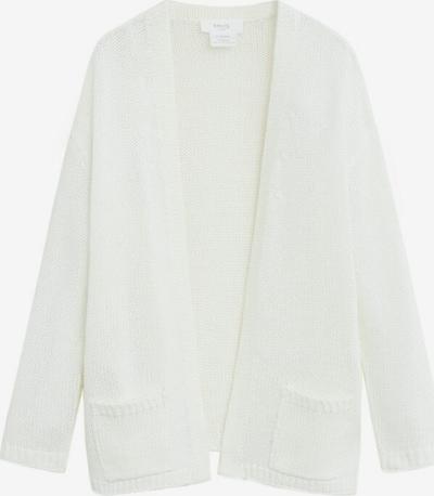 MANGO KIDS Strickjacke 'Kendall' in weiß, Produktansicht