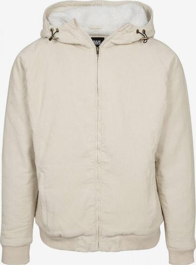 Urban Classics Jacke in kitt / weiß, Produktansicht