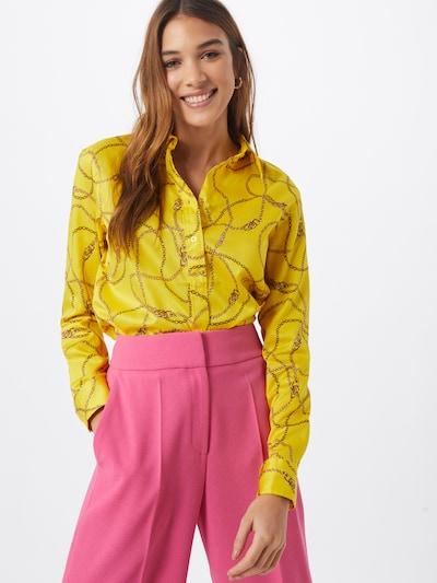 Lauren Ralph Lauren Blūze pieejami dzeltens / melns, Modeļa skats