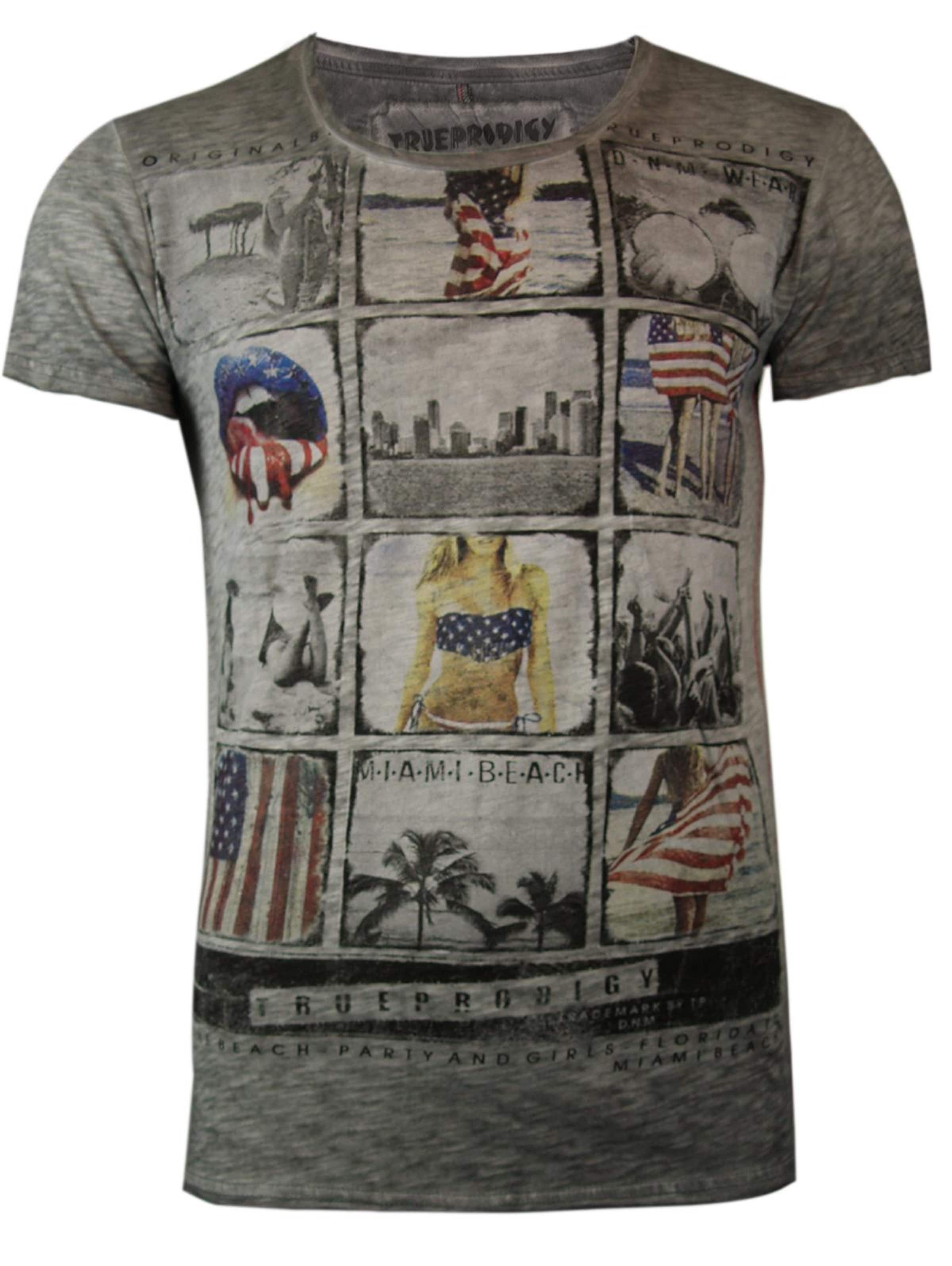 'miami Memories' Beach GraumeliertMischfarben T Trueprodigy shirt In N8nm0wv