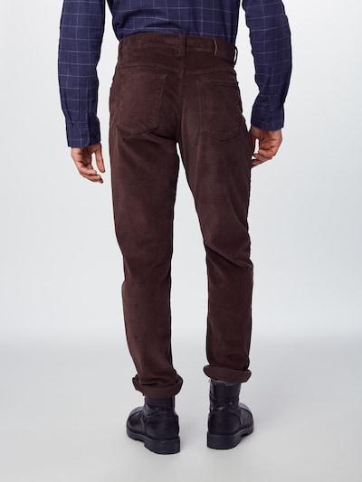 Kelnės 'Cooper Fancy' iš BRAX , spalva - tamsiai ruda: Vaizdas iš galinės pusės