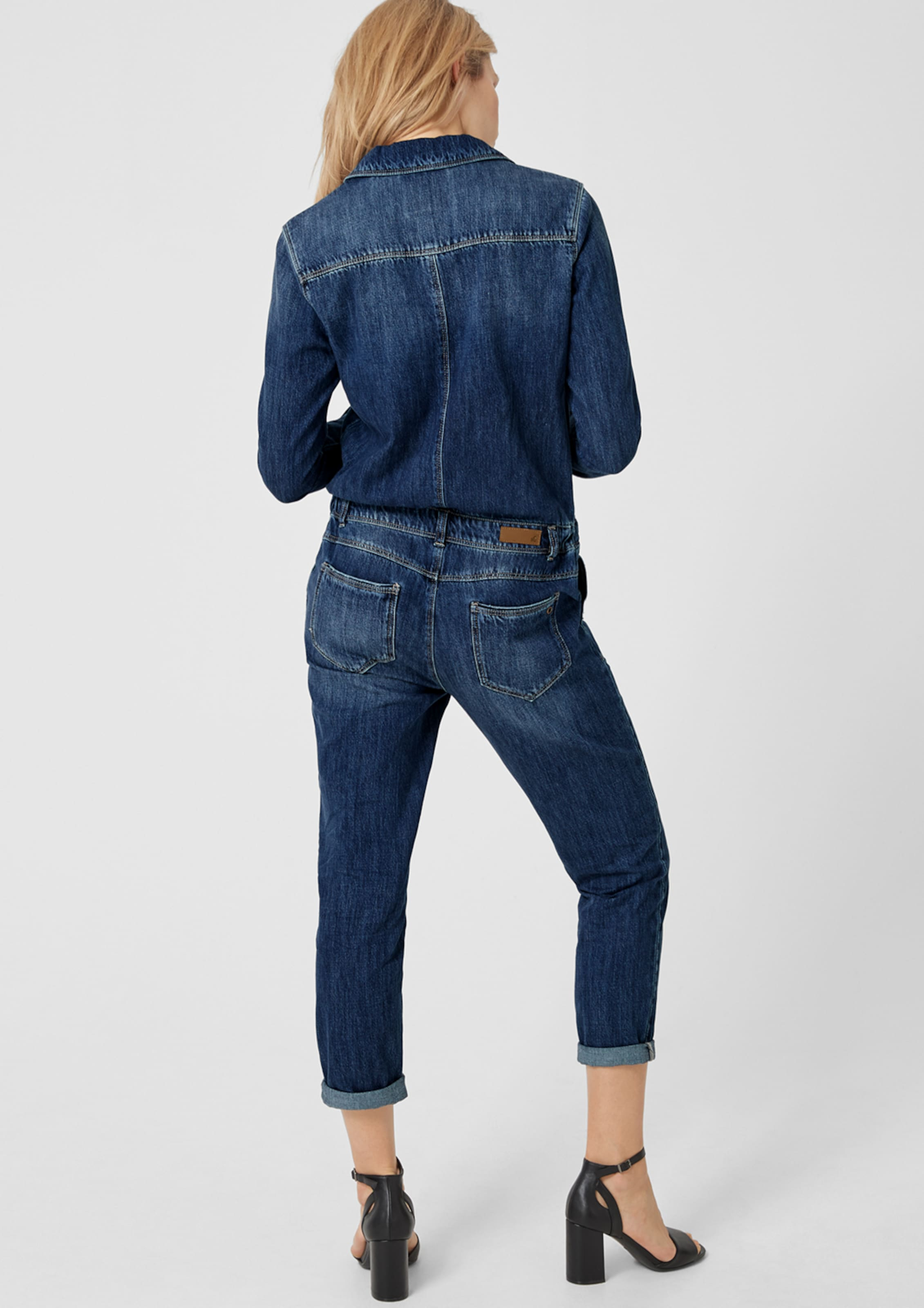 Denim S Red Label Blue Overall oliver In WHIe9ED2Y