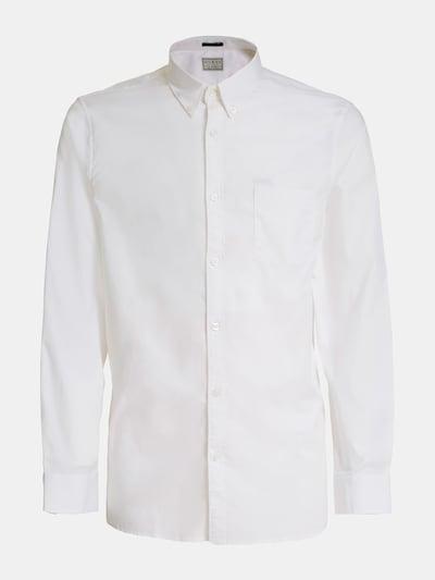 GUESS Hemd 'Oxford' in weiß, Produktansicht