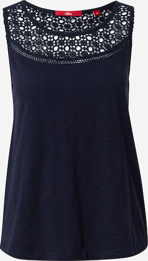 s.Oliver Top in navy, Produktansicht