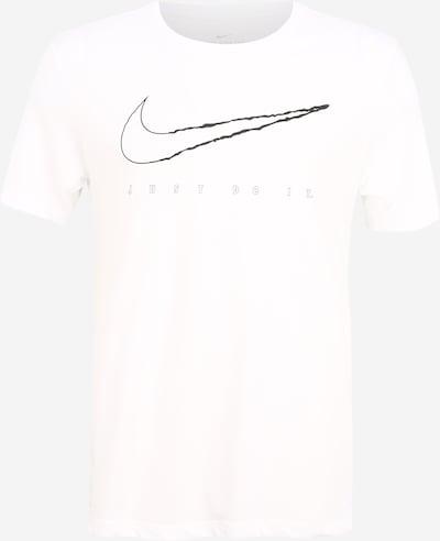 NIKE T-Shirt fonctionnel en noir / blanc, Vue avec produit