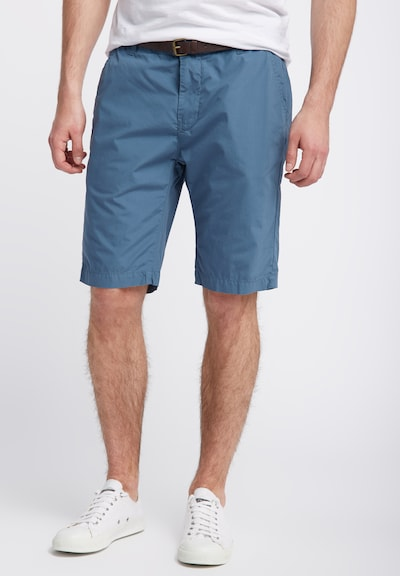 Petrol Industries Shorts in cyanblau: Frontalansicht