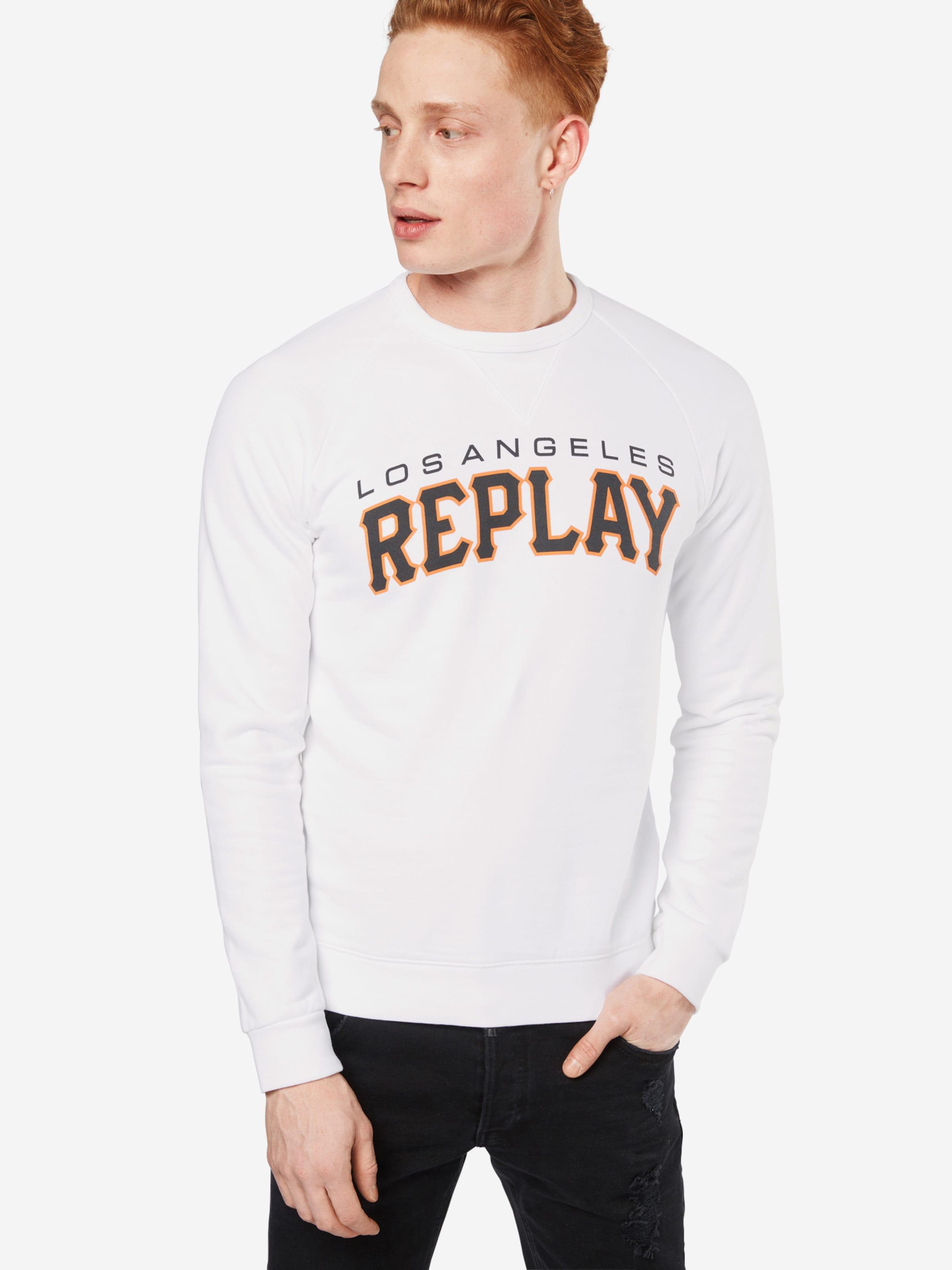 Günstig Kaufen Spielraum Store REPLAY Sweatshirt Billig Verkauf Niedriger Preis Rabatt Billig Heißen Verkauf ta43UbsO0