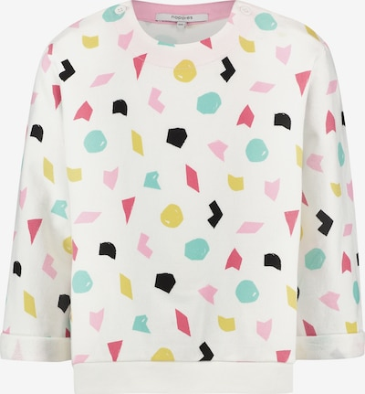 Noppies Sweater 'Portage' in zitrone / rosa / schwarz / weiß, Produktansicht