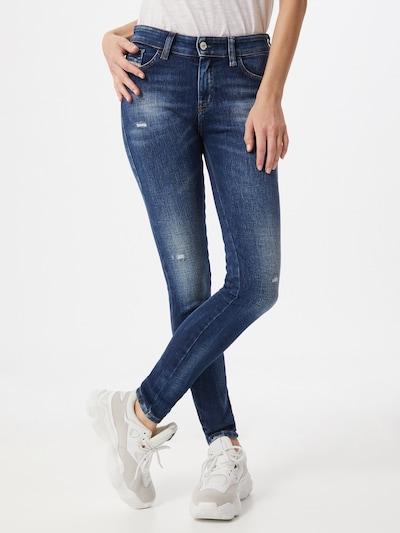 DIESEL Jeans 'Slandy' in dunkelblau: Frontalansicht