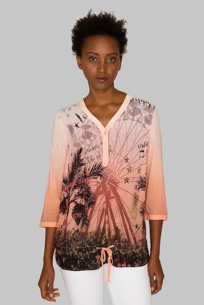 Soccx Bluse in koralle, Modelansicht