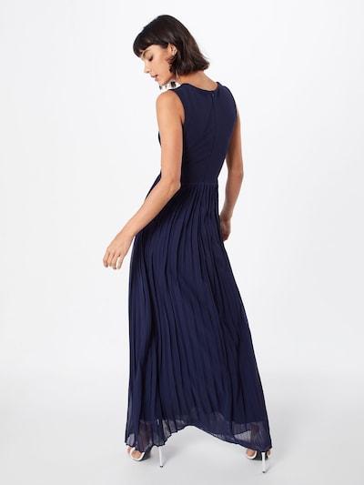 WAL G. Suknia wieczorowa 'CC0053' w kolorze niebieskim: Widok od tyłu