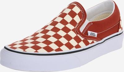 VANS Sneaker  'UA Classic Slip-On' in rostbraun / weiß, Produktansicht