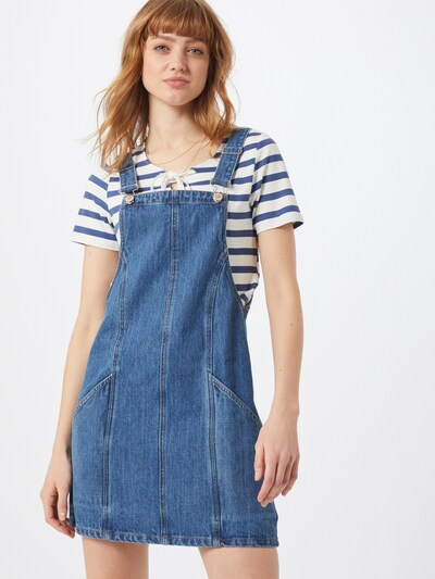 Miss Selfridge Kleid in blue denim, Modelansicht