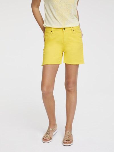 heine Shorts in gelb, Modelansicht