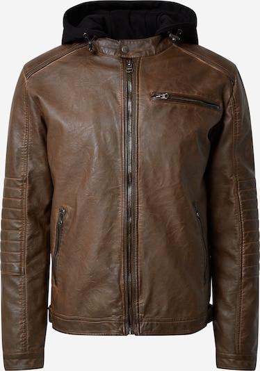 INDICODE JEANS Between-season jacket 'Berry' in Dark brown, Item view