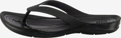Crocs Zehentrenner 'Swiftwater Flip W' in schwarz, Produktansicht